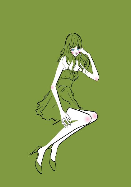 超音波エクステ・緑